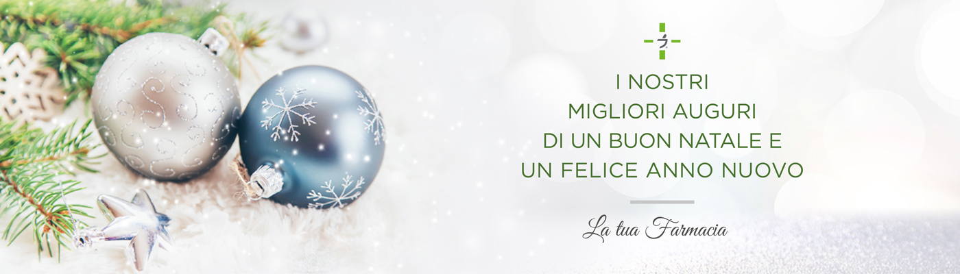 I nostri migliori auguri di un buon Natale e di un felice anno nuovo
