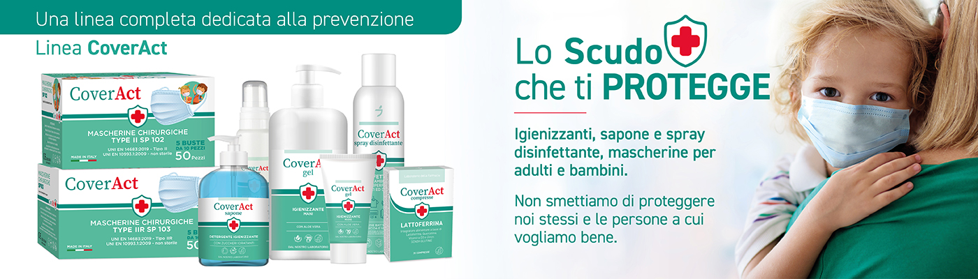 CoverAct, la nuova linea completa dedicata alla prevenzione