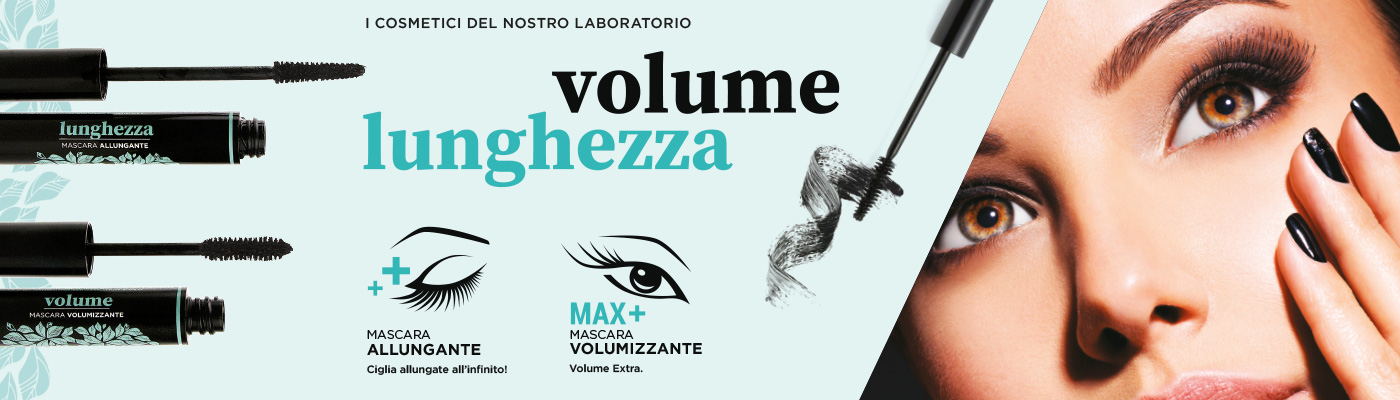 Mascara lunghezza e volume