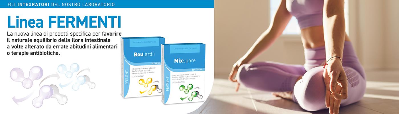Linea Fermenti - Boulardii e MixSpore