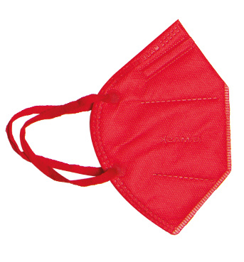 Mascherina FFP2 Rossa Taglia L