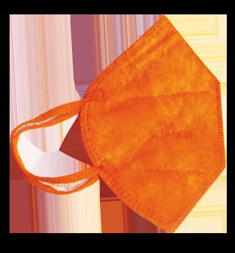 Mascherina FFP2 Arancione Taglia L