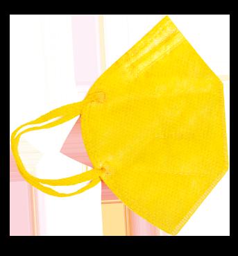 Mascherina FFP2 Gialla Taglia L