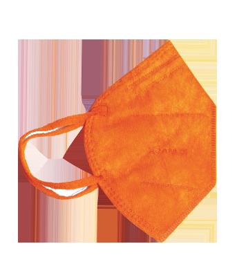 Mascherina CoverAct FFP2 Arancione Taglia L